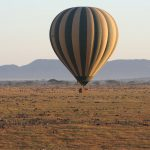 hot air balloon safari